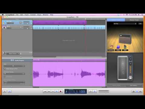GarageBand '11 Flex Time and Amp Models – TheRecordingRevolution.com