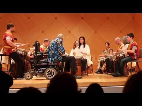 ASU African Drum Ensemble, ASU Baak, Fall 2013