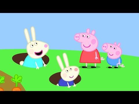 Video Peppa Pig Français | 3 Épisodes | La Maison de Rebecca Rabbit | Dessin Animé Pour Enfant #PPFR2018 download in MP3, 3GP, MP4, WEBM, AVI, FLV January 2017