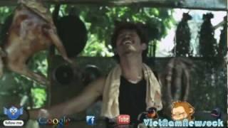 Sock diễn viên Huy Khánh & ca khúc THỊT CHÓ  trong Cột mốc 23
