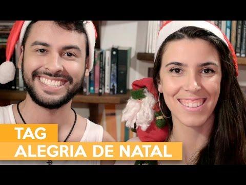 TAG ALEGRIA DE NATAL | Admirável Leitor