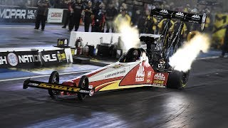 With a 3.767 pass at 323.97 mph  Doug Kalitta went to the top on Friday at the MOPAR Mile-High NHRA Nationals. Facebook: https://www.facebook.com/NHRATwitter: @NHRA: https://twitter.com/NHRA Instagram: @NHRA: http://instagram.com/nhraSnapchat: @NHRATumblr: @NHRAOfficialNHRA ALL ACCESS Live Stream: http://bit.ly/nhraallaccess