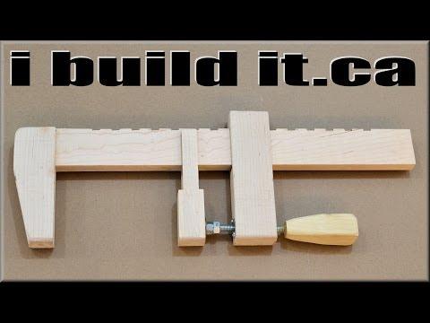 Make A Wooden Bar Clamp