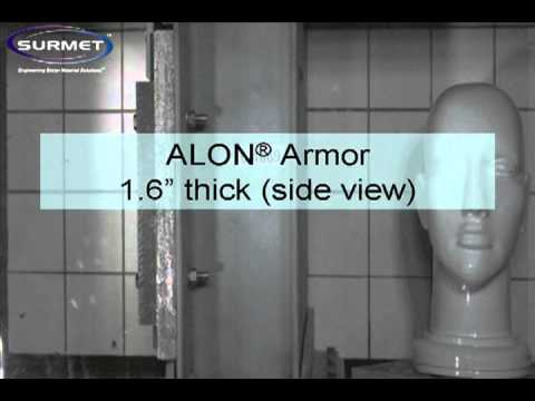 alon - Surmet's ALON® Transparent Armor also has shown excellent environmental durability in scratch and rock strike resistance stemming from 3x hardness of glass a...
