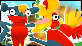 HO-OH LEGENDARY & GARCHOMP MEGA EVOLUTION! | Roblox Pokemon Fighters EX