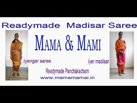 Video Iyer & Iyengar Madisar saree collections download in MP3, 3GP, MP4, WEBM, AVI, FLV January 2017