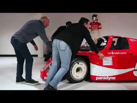 Racing Coca-Cola Classics at Porsche Atlanta HQ