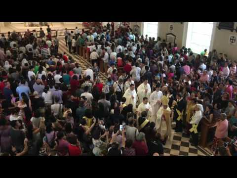 Cathedral of the Good Shepherd Opening Mass - Final Hymn (Pipe Organ)
