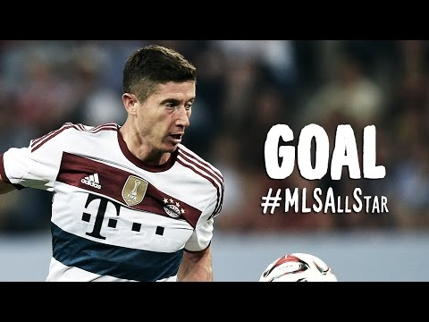 all star mls - bayern monaco 2-1: bellissimo gol di robert lewandowski