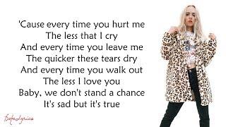 Sam Smith - Too Good At Goodbyes (Lyrics)(Madilyn Bailey Cover)