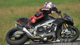 1. Look Aprilia Tuono V4 R ABS Performance Reviews