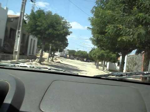 Chegando em Carnaubinha via estrada da Lagoa Nova