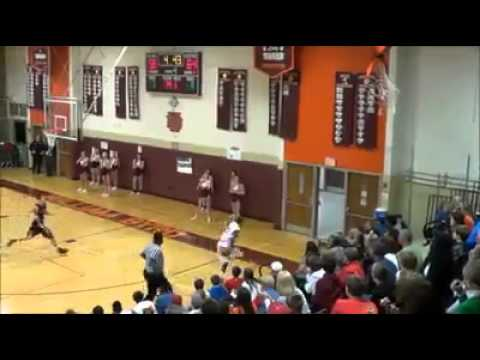 Dude  Drains a Ridiculous 3 pointer