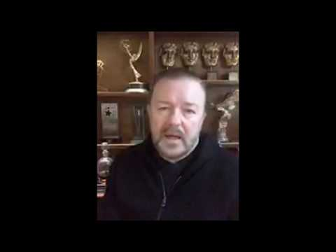 Ricky Gervais endorses Animals Asia during this coronavirus crisis