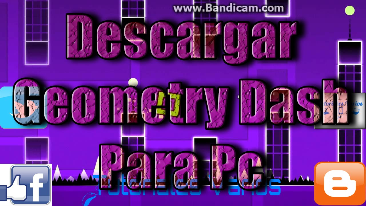 Como Descargar Geometry Dash para Pc [Con BlueStacks] | MEGA