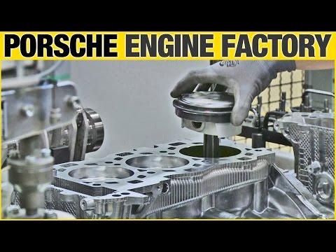 Porsche 911 Motor Fabrikas&#305
