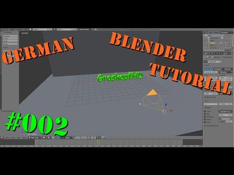 Intro erstellen mit Blender #002 Tutorial GERMAN
