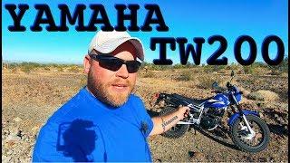 8. I Got A Yamaha TW200 Dual Sport Motorcycle!!!
