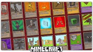 MINECRAFT YU-GI-OH CARDS!?