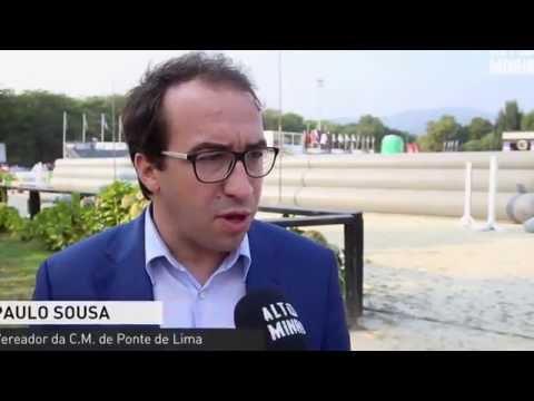 Reportagem do 'Altominho TV' sobre o Campeonato do Mundo de Horseball 2016, que decorre em Ponte de Lima, de 14 a 20 de agosto, na Expolima.