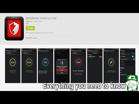 Bitdefender Antivirus Free for Android tutorial