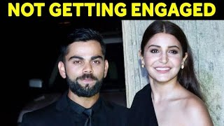 Virat Kohli Denies Rumours Of Engagement With Anushka Sharma