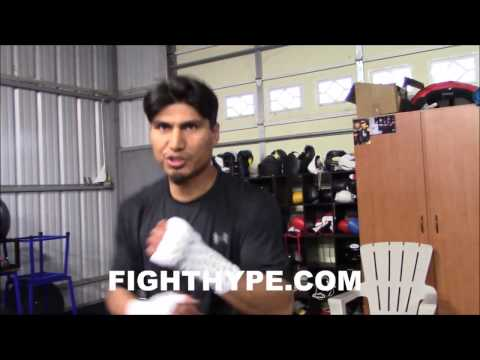 MIKEY GARCIA RECALLS SPARRING PACQUIAO IN HIS PRIME; DESCRIBES FIRST TIME HE GOT CAUGHT WITH LEFT (видео)