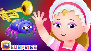 ChuChu TV Surprise Eggs Nursery Rhymes Toys  Little Miss Muffet  Learn Colours & Objects