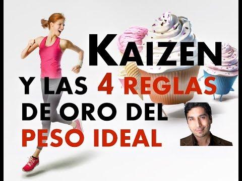 KAIZEN Y LAS 4 REGLAS DE ORO PARA EL PESO IDEAL