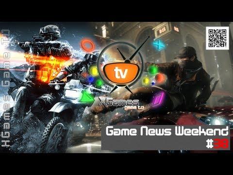 Game News Weekend - #38 от XGames-TV (Игровые Новости)