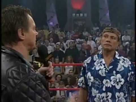 "Jimmy Snuka on Roddy Piper's ""Pipers Pit"" (November 7th 2004)"