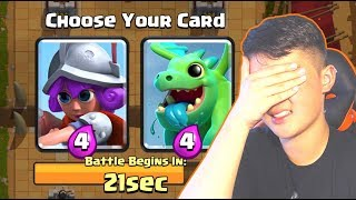 "HEY guys, Shredder here, and welcome back to Clash! Today we do the Double Elixir Draft Challenge again and I blindly pick my team. What could go wrong? Thanks for watching, hope you enjoyed, and remember to smash that like button and subscribe if you laughed! XDPlaces you can see my ugly face!Instagram: https://www.instagram.com/shredderftw/Twitter: https://twitter.com/ShredderFTWMusic used in my intro: ""I Found Love"" by Dustin Miles ft. Brenton Mattheus (Ninety9lives)Listen to it! https://www.youtube.com/watch?v=ygSW0pYM274"