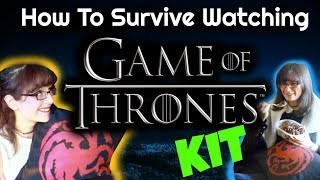 """If you like Game of Thrones you have to check the """"How to survive watching Game of thrones KIT"""" if you want to have the most..."""