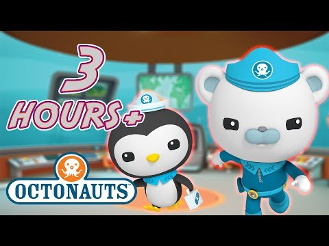 Octonauts - Mega Compilation | 3 Hours+ of Action-Packed Sea Rescues! | Underwater Sea Education