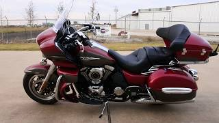 1. $17,499:  2018 Kawasaki Vulcan 1700 Voyager ABS Candy Cardinal Red Review