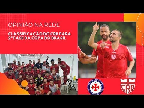 CRB avança para 2ª fase da Copa do Brasil