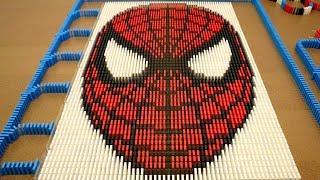 Video Spider-Man in 10,000 Dominoes! MP3, 3GP, MP4, WEBM, AVI, FLV Maret 2018