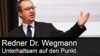 Demovideo Comedy-Redner Dr. Jens Wegmann