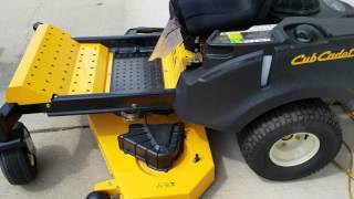 4. Cub Cadet RZT L ZERO TURN QUICK LOOK