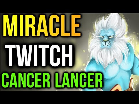Miracle- Twitch Stream PL - Here Comes the Cancer Lancer Dota2