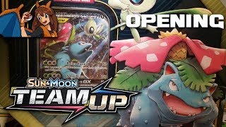 These tins might be against me - Opening a Celebi and Venusaur Tag Team GX Tin of Pokemon Cards! by Flammable Lizard