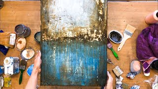 Video Abstract picture in acrylic, with foil, structure, instructions, also for beginners MP3, 3GP, MP4, WEBM, AVI, FLV Juli 2019