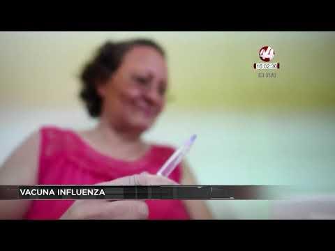 Peso ideal - Corte 44  Invitan a vacunarse contra la influenza