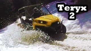 9. Kawasaki Teryx 750 ATV Mudding 4x4
