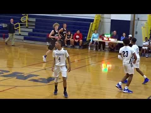 Franklin Middle School Knights (Warriors) Boys Basketball 9 February 2018
