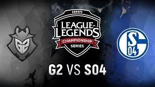 Video G2 vs. S04  - Week 4 Day 1 | EU LCS Spring Split |  G2 Esports vs. FC Schalke 04 (2018) MP3, 3GP, MP4, WEBM, AVI, FLV Juni 2018
