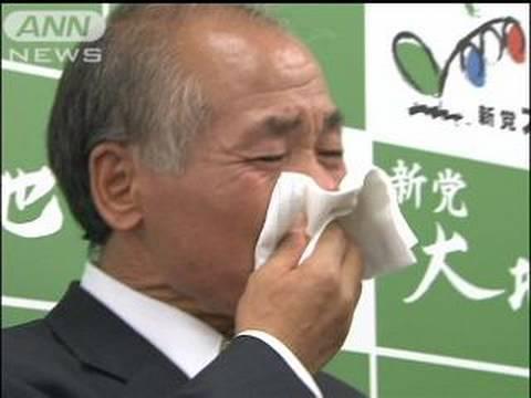 【詳報】鈴木宗男氏涙のコメント中川氏急死で1/2(09/10/04)