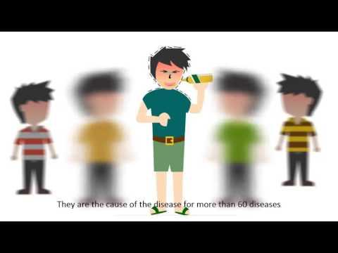 Stopdrink Cartoon - งดเหล้าเข้าพรรษา