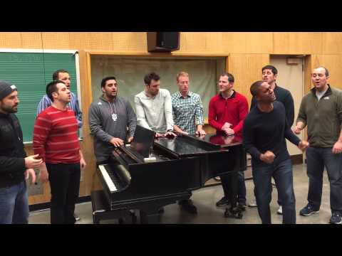 Straight No Chaser - O Holy Night (in MA404 at Indiana University)