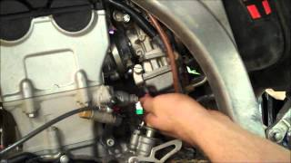 9. How-To: 4 Stroke MX Fuel Screw Adjustment YZF CRF KXF RMZ FCR Part 1 of 2